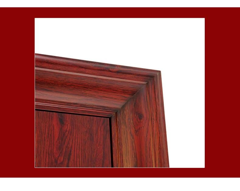 khuôn cửa thép vân gỗ